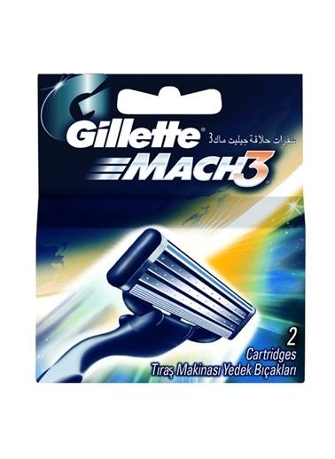 Gillette Gillette Mach 3 2 Li Yedek Renksiz